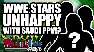 WWE Talent UNHAPPY With Crown Jewel?! Austin Aries DONE With Impact?| WrestleTalk News Oct. 2018