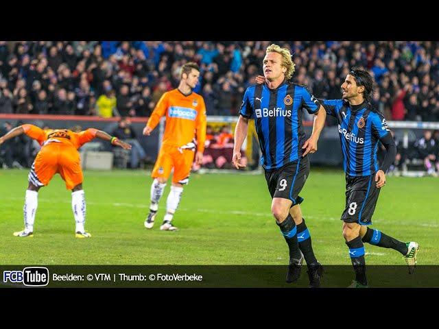 2012-2013 - Jupiler Pro League - 17. Club Brugge - SC Charleroi 1-0
