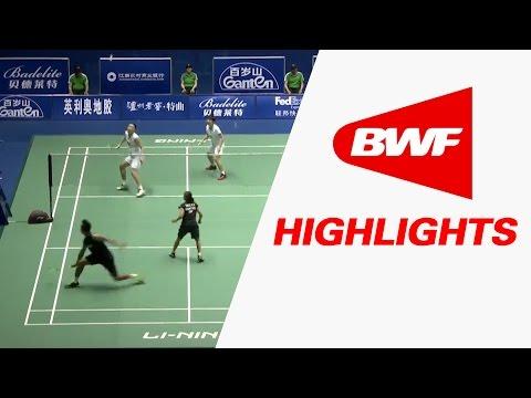 China Masters 2017   Badminton SF – Highlights
