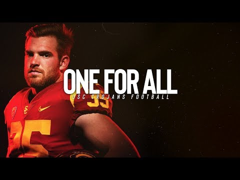 USC Football 2018 - ONE FOR ALL - Cameron Smith