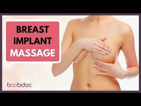 Breast Implant Massage - Simple Technique For Massage After Augmentation Surgery