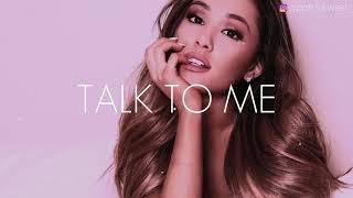 """Ariana Grande Type Beat   """"Talk To Me (ft. Drake)""""   RnB Instrumental 2019   @patrickwest_"""