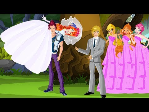WINX CLUB Love Story Fan Animation Cartoon Bloom Kidnapped By Riven