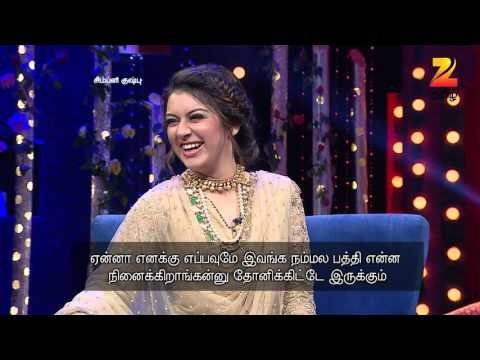 Simply Kushboo - Tamil Talk Show - Episode 19 - Zee Tamil TV Serial - Webisode