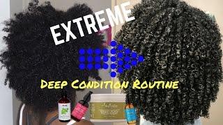Baixar EXTREME Deep Condition Routine | Dry→Moisturized Curls!!!