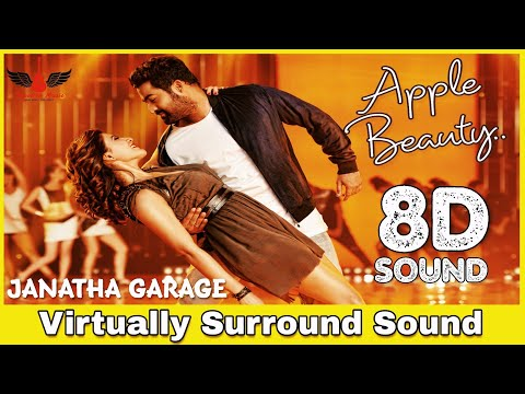 Apple Beauty | 8D Audio Song | Janatha Garage | Jr. NTR | Telugu 8D Songs