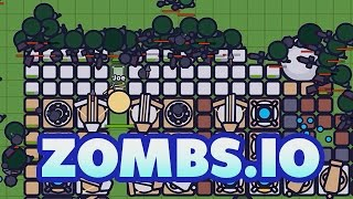 Zombs.io Gameplay German - 10.000 Zombies Vs. Basis