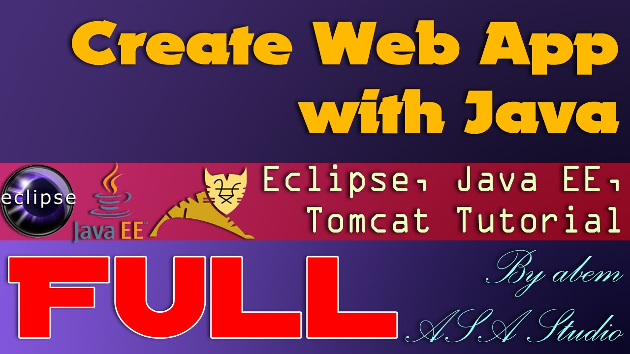 Full video create web app with java eclipse for java ee and full video create web app with java eclipse for java ee and apache tomcat youtube baditri Gallery