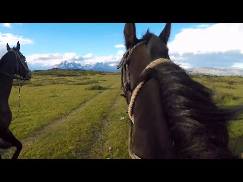 What is it like to horse ride in Patagonia?