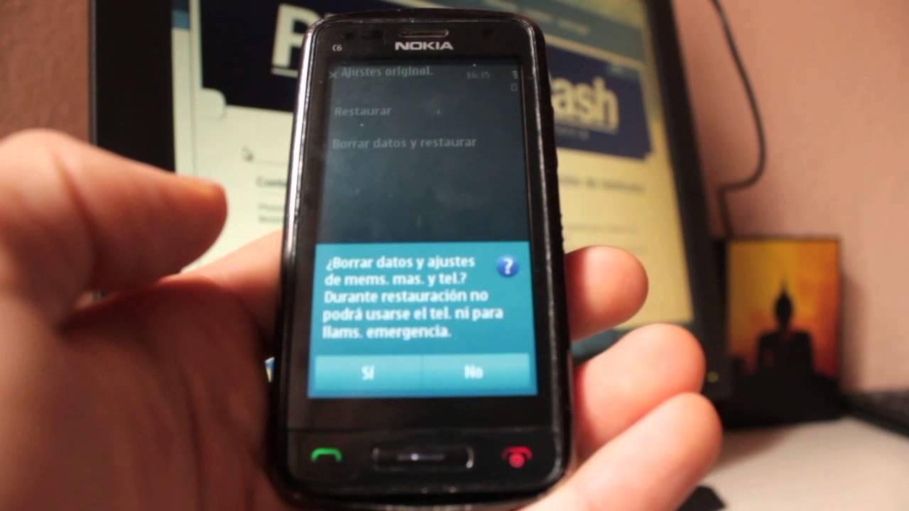 nokia c6 01 resetear reestablecer hard reset phone cash rh youtube com Clip Art En Espanol GED En Espanol