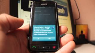nokia c6 01 resetear   reestablecer   hard reset phone