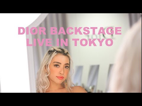 Makeup tutorial: Dior Backstage Live in Tokyo Rouge Dior Liquid 植野有砂 ルージュ ディオール リキッド パーティメイク
