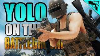 """AIN'T CALL OF DUTY - """"YOLO on the Battlegrounds"""" #7 (PUBG Funny StoneMountain64)"""