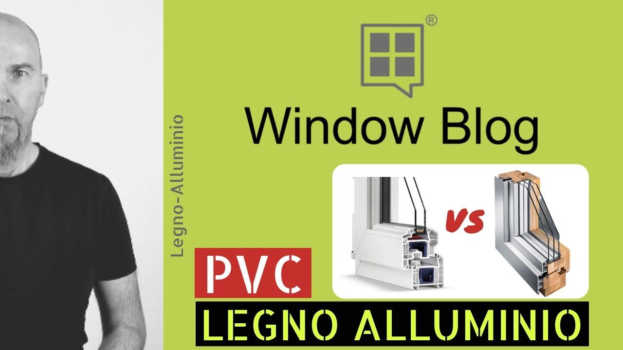 Serramenti Pvc O Alluminio Opinioni legno alluminio o pvc