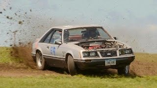 Junk Rustang RallyCross Thrash - Humble Beginnings (Grassroots Roadkill)
