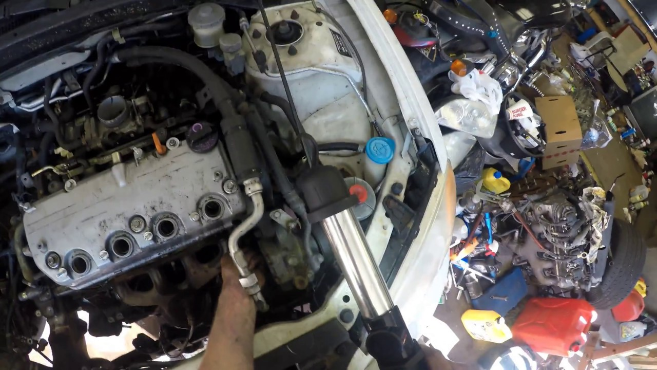 hight resolution of 2002 honda civic exhaust manifold removal