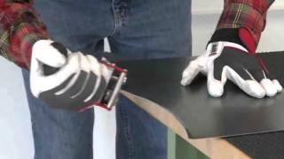 видео Кровельный инструмент жестянщика