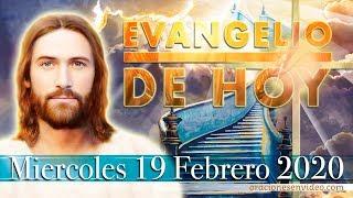 Evangelio de Hoy Miércoles 19  Febrero 2020 Mc 8,22-26 Le untó saliva en los ojos