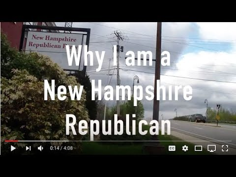 WHY I AM A NEW HAMPSHIRE REPUBLICAN