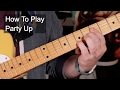 watch he video of 'Party Up' Prince Guitar Lesson