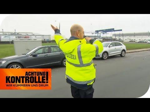 LKW transportiert Gefahrgut: Ist die Ladung gut gesichert? | Achtung Kontrolle | kabel eins