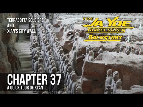 A Quick Tour of Xi'An | JaYoe Travelogues Backstory | Chapter 37