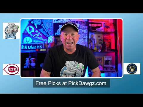 Milwaukee Brewers vs Cincinnati Reds Free Pick 8/24/20 MLB Pick and Prediction MLB Tips