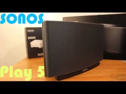 Sonos Play 5 Review-Wireless Home Sound System - YouTube
