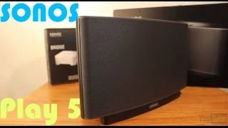 Sonos Play 5 Review-Wireless Home Sound System