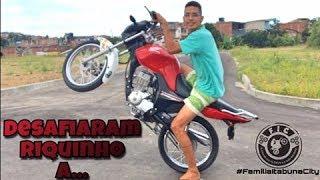 MANDARAM DESAFIO DE GRAU PARA RIQUINHO... SERÁ QUE CONSEGUIU ? ? ? thumbnail