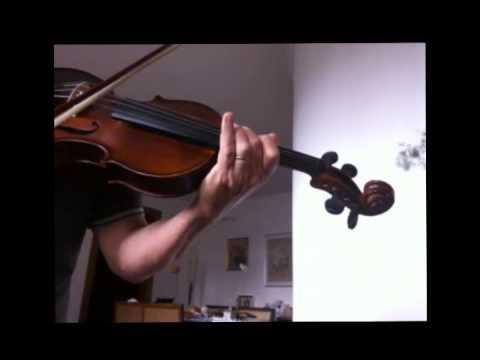 aula de fear of the dark no violino