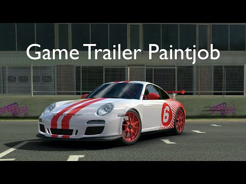 Real Racing 3 | Porsche 911 GT3 RS Customisation | Game Trailer Paintjob