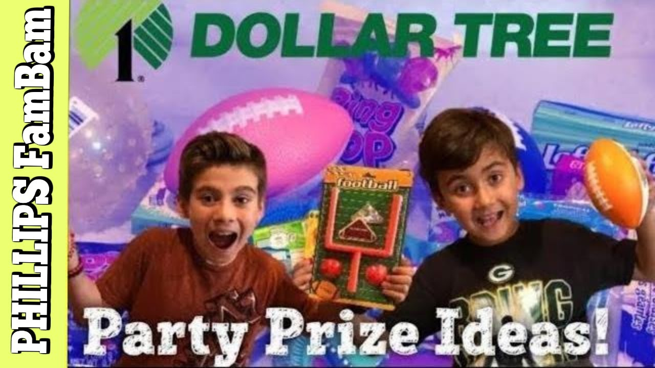 Dollar Tree Haul What Did We Buy Party Prize Ideas Phillips