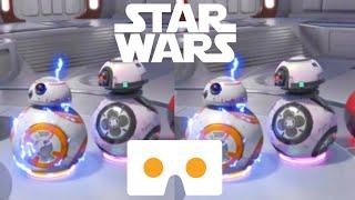 Star Wars 3D VR Box SBS Google Cardboard Disney Movies Droid BB-8 not 360