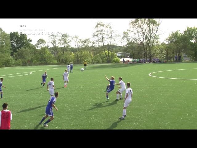Acton Boxborough Varsity Soccer vs Cambridge 9/21/15