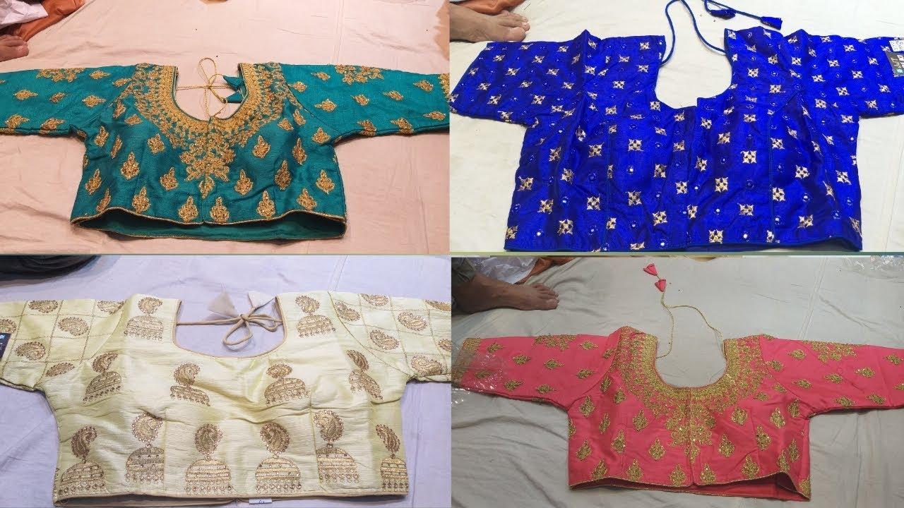 e00640c2435398 Sowcarpet-Readymade Blouses  Bridal Blouse  RasikalamRusikalam - YouTube