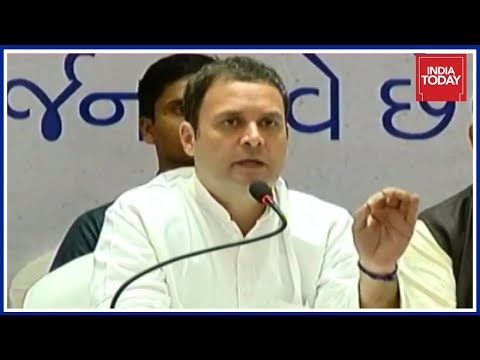 Rahul Gandhi Speaks To Media In Gujarat ; Says Confident Of Victory