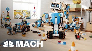 A Robotics Set That Lets Kids Bring Their Lego Creations To Life | Mach | NBC News