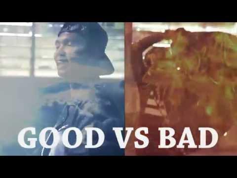 GOOD VS BAD  ( Young Lex ft AwKarin X aldiramadhika ft Jasmine ) - RAP BATTLE PARODY