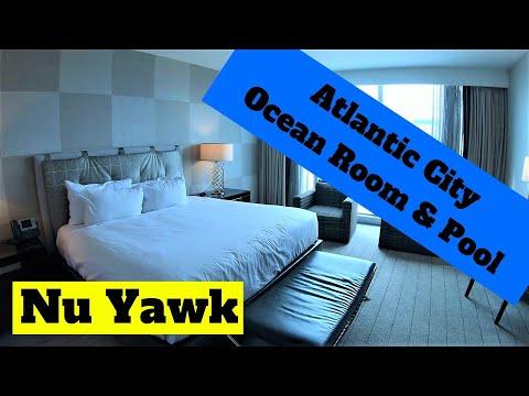 Atlantic City   Ocean Resort & Casino room and pool tour. Love the hotel & casino. The room? Well...