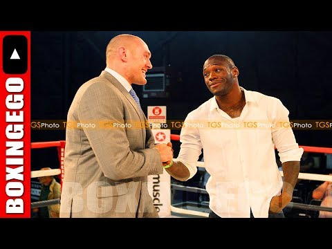 DEONTAY WILDER WILL GO TO TYSON FURY'S FIGHT IN IRELAND - IN RING FACE OFF?