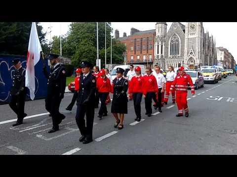 Irish Red Cross (Lights & Sirens) - Emergency Service Parade Dublin