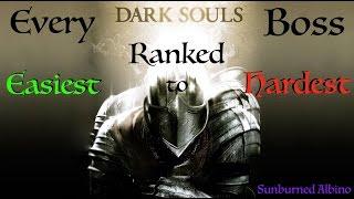 All Dark Souls Bosses Ranked Easiest to Hardest