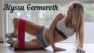 Фитнес модель Alyssa Germeroth | Мотивация | Спорт