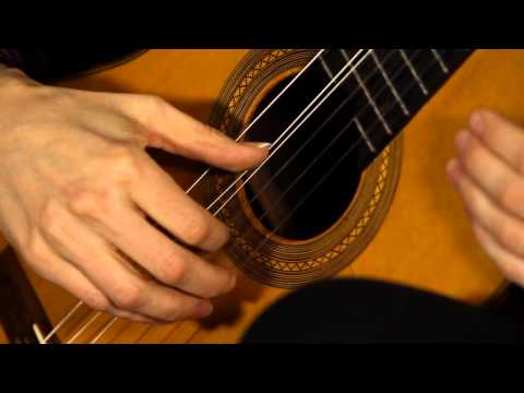 Classical Guitar Thumb Technique