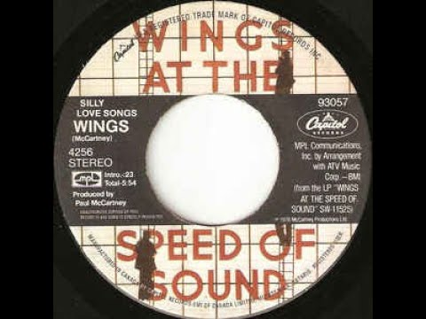 SILLY LOVE SONGS  Paul McCartney & Wings  1976