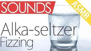 Fizzing Alka-seltzer Sounds (ASMR, binaural, ear to ear, audio only)