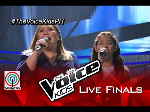 "The Voice Kids Philippines 2015 Live Finals Performance: ""Ikaw"" by Sassa & Sharon Cuneta"