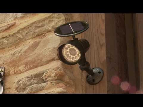 Solar Sensor Spotlight
