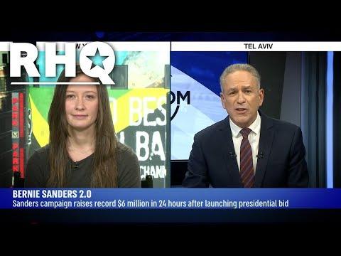 Emma On i24 News: Bernie Is The Frontrunner